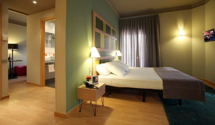 Habitación Hotel Ciutat Barcelona Barcelona