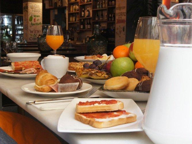 Gastronomía hotel ciutat barcelona