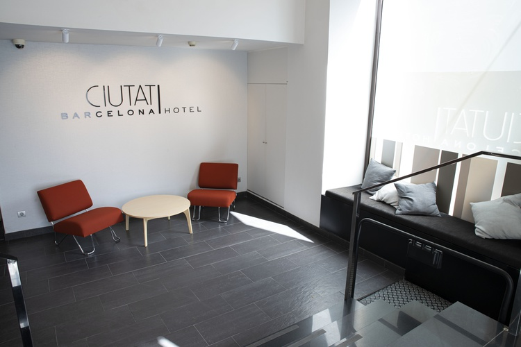 Interiores hotel ciutat barcelona