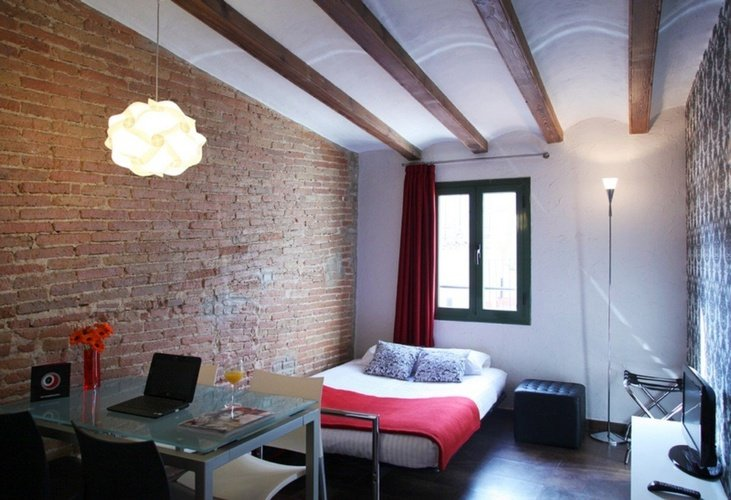Habitación apartaments ciutat vella barcelona