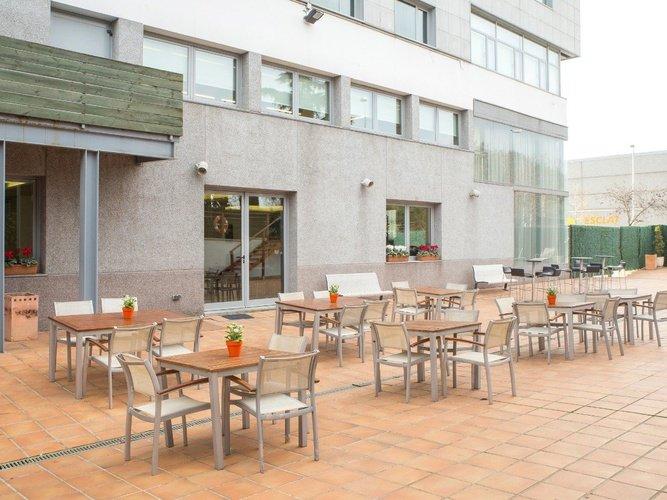 Exteriores hotel porta de gallecs mollet del vallés