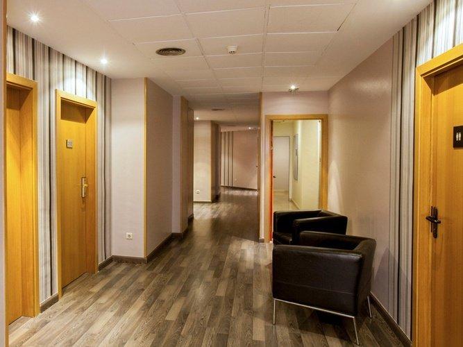 Pasillo hotel porta de gallecs mollet del vallés